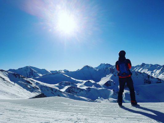 ski gadgets bone conduction hoofdtelefoon