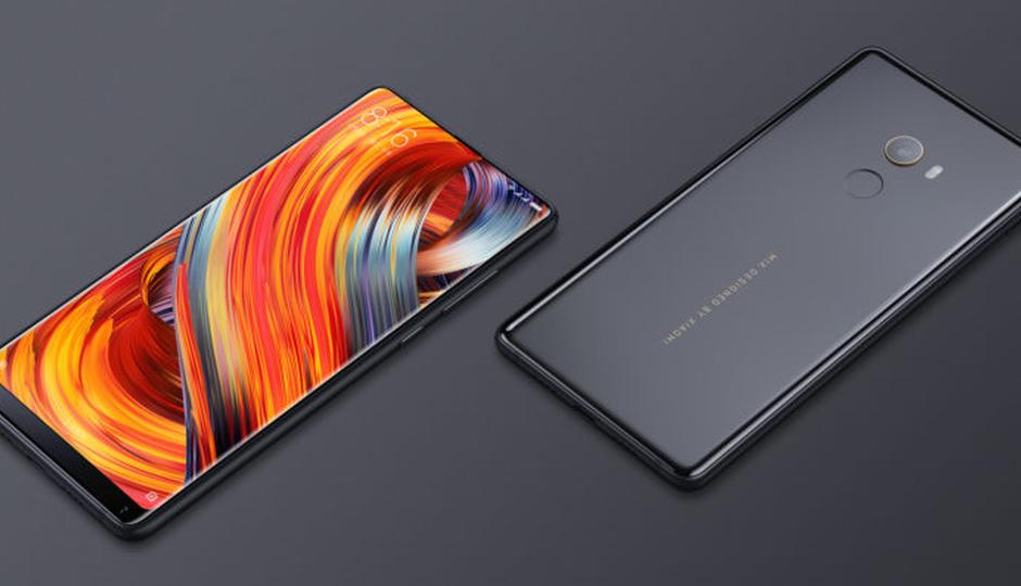 xiaomi mix sound on display smartphone