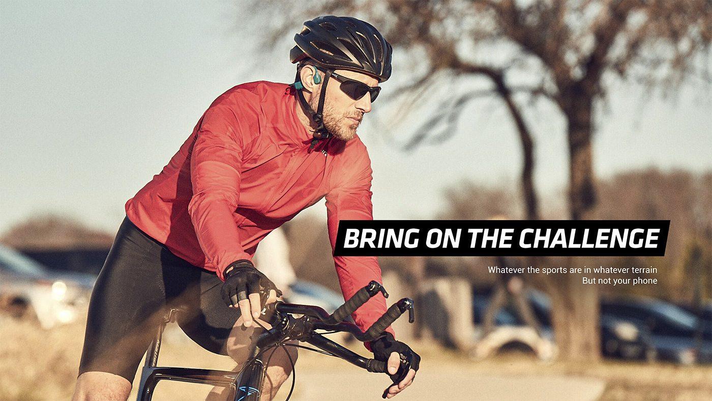 AfterShokz Xtrainerz Review tijdens het hardlopen en fietsen